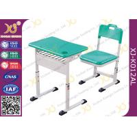 China Aluminum Alloy Material AL Student School Desk Chair Light Weight And Stable wholesale