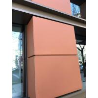 China Durable Exterior Wall Cladding Decorative Terracotta Facade Wall Panels Pavers wholesale