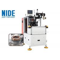 China AC Electric motor Automatic double end stator coil lacing machine for sale , coil lacer equipment manufacturer on sale
