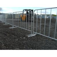 Wholesale Crowd Control Barriers Hot dipped galvanized powder coated RAL 2009 Orange color 1100mm x 2200mm from china suppliers