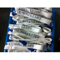 China Safety Factor 5 To 1 Endless Webbing Sling 900kg White Color OEM Available wholesale
