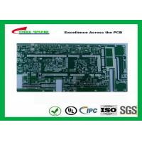 China Taconicrf Green Solder Mask Double Side PCB 0.75mm Lead Free HASL DK3.5 DF0.0025 wholesale