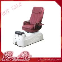 China modern relaxing electric chair pedicure chair ceramic pedicure sink with jets wholesale