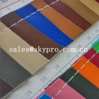 China Customized New Style PVC Synthetic Leather For Sofa Bag With Polyester Backing wholesale