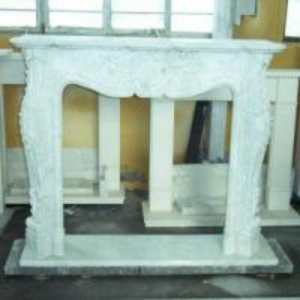 China White Fireplace / Marble Fireplace / Fireplace Mantel (LY-086) wholesale