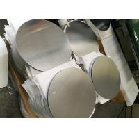 Quality Mill Finish 3000 Series Aluminum Round Plate , Strongest Commercial Grade for sale