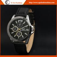 China 009A CHENXI Branding Watches Unisex Business Watch Quartz Analog Watches Genuine Leather wholesale