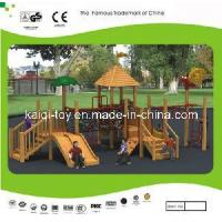 China Wooden Series Outdoor Playground Equipment (KQ10155A) wholesale