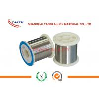 China NiCr80/20 Nickel Chromium Alloy Material Wire for Metal Film Resistor Coating wholesale