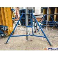 China Removable Slab Formwork Construction Folding Tripod Q235 Steel Pipe Material wholesale