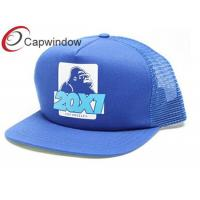 5 Panel Trucker Mesh Cap with Printed Image on Frontside / Summer Hat