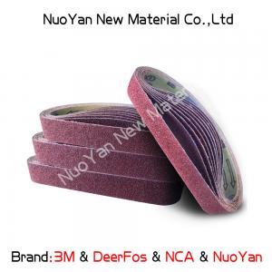 China Non Woven  Diamond Grit Sanding Belts  Nylon  Suitable For Producing Mat wholesale