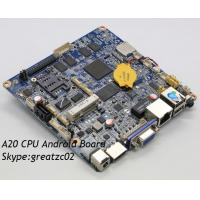 China Onboard WIFI Android Motherboard , Industrial Onboard CPU Motherboard Fanless wholesale