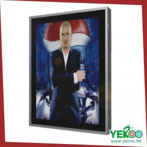 China Single sided LED backlit aluminium light box wholesale