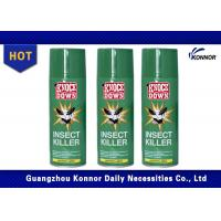 China Flying Insect Killer Aerosol Insecticide Spray Alcohol Based Tin Can Aerosol Can on sale