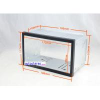 China Universal Car Stereo 2 Double DIN Head Unit Cage Fitting Fascia wholesale