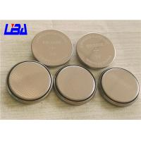 China 240mAh Standard Coin Cell Battery , Rechargeable 3v Cr2032 Battery wholesale