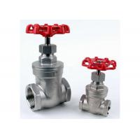 """China 1/4"""" to 4"""" Stainless Steel Gate Valve CF8M NPT Thread PN16 ASTM Standard wholesale"""