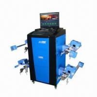 China Wheel Aligner with 110 to 220V, 50Hz Power Supply and Microsoft Windows XP Operating System wholesale