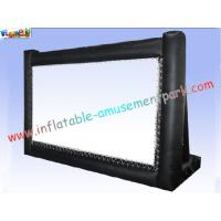 China Tabletop Inflatable Backyard Movie Screen Outdoor Inflatable Billboards For Display wholesale
