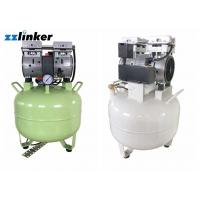 China Over 6 Gallon Oil Free Compressor For Dental Use 110V / 220V Dental Unit Driven wholesale