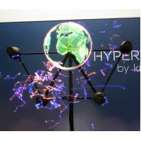 China Holographic Display 3D Hologram LED Fan  Player For Advertising wholesale