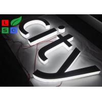 China Mirror Polished LED Channel Letter Signs Epistar LED Chip Customized Design wholesale