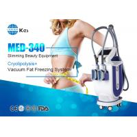 Wholesale 2017 KES 2 handles cryotherapy fat freezing device for weight loss machine MED-340 rapidly slimming machine from china suppliers