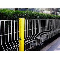 China Security Triangle Bending  Fence / Folded Mesh Fencing For Outdoor / Road Fence wholesale