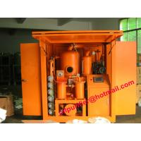 China Large Power Industry  Above 110KVA High Vacuum Oil Treatment Plant ,Transformer Oil Dehydrating with enclosure house wholesale