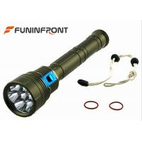 China 9000LMs  Diving LED CREE Torch, Waterproof Underwater Scuba Diving Lights wholesale