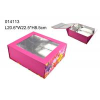 China Clear Window Presentation Custom Design Packaging Boxes CMYK Color wholesale