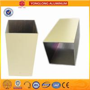 Colourful Powder Coated Aluminium Extrusions Lenth Or Shape Customized