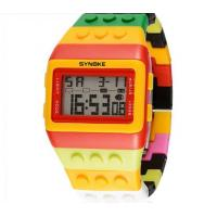 China Wholesale Synoke Children New Concept  Rainbow Digital Watch LED Students Wrist Watches  8080 wholesale