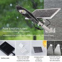 Quality 20W Solar Street Light, 3500 LM 6500K LED Outdoor Solar Powered Street Lamp IP66 for sale