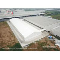 China 40m Width Aluminum Frame Industrial Storage Tents With Ventilation Windows wholesale