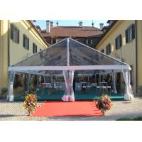 China Transparent Sidewall Romantic Large Wedding Tents Aluminum Alloy Structure Marquee wholesale