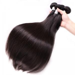 China 100% Brazilian Virgin Hair Straight, Silky Soft Brazilian Straight Hair Bundles wholesale