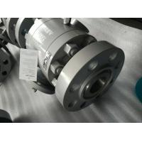 China Split Body Construction Floating Ball Valve BSP NPT SW ANSI B 1.20.1 FB RB Intergral Seat wholesale