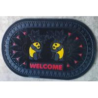 China Anti Slippery Rubber Door Mat Home Entrance Welcome Door Mats wholesale