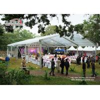 China Aluminum Frame Small Garden Marquee Tent Waterproof with Glass Walls wholesale