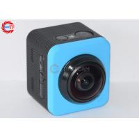 360 Degree Rotation Waterproof  Action Camera , Cube Shape Wireless Video Camera
