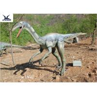 High Simulation Realistic Dinosaur Statues For Dinosaur Theme Park / Customizable
