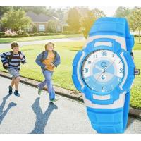 Buy cheap Wholesale Synoke PU Strap Children Waterproof 50m Sport Watches Students Quartz Watches 9608 from wholesalers