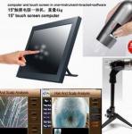 China portable 2 million pixel polarizing function for dark skin pigment skin analyzer machine wholesale