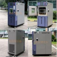 Buy cheap 64L Benchtop / Desktop Climatic Test Chamber With Hand A Hole Operation Inside Chamber from wholesalers