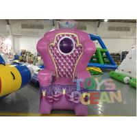 China Giant Inflatable Advertising Products For Children Inflatable Queen Chair Throne wholesale