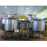 2000L Large Scale Beer Brewing Equipment In Hotel , Restaurant , Brewpub for sale