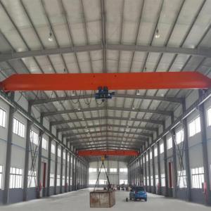 China 15 Ton Single Girder Eot Crane 30m Max Lifting Height Electric Motors Driving wholesale