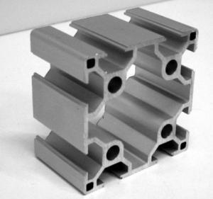 China Mill finished Industrial Aluminium Profile For Production Line , T Slot Aluminum Profile wholesale